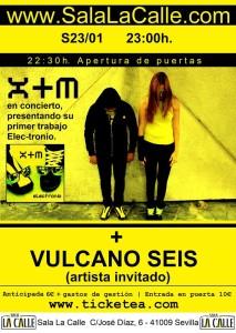 X+M concierto 23-01-2015